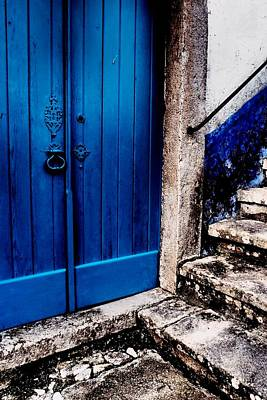 Photograph - Blue Door by Dora Hathazi Mendes