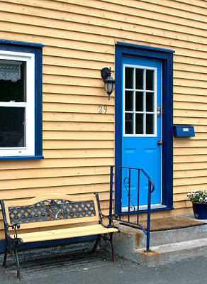 Photograph - Blue Door by Douglas Pike