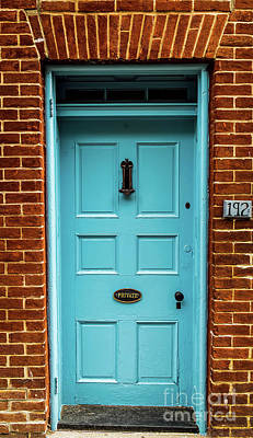 Digital Art - Blue Door by Elijah Knight