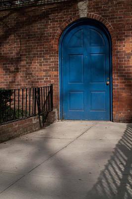 Photograph - Blue Door by Henri Irizarri