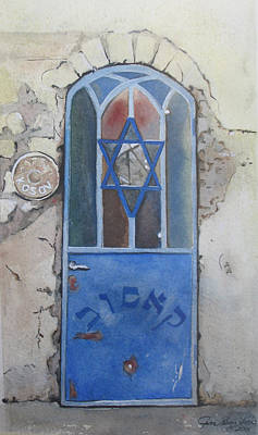 Painting - Blue Door by Jean Sumption