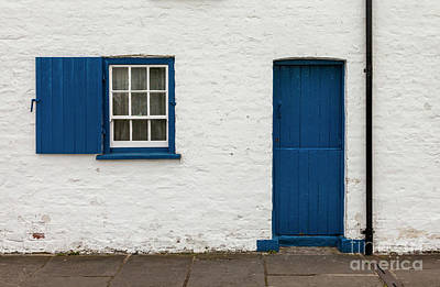 Photograph - Blue Door by Jim Orr