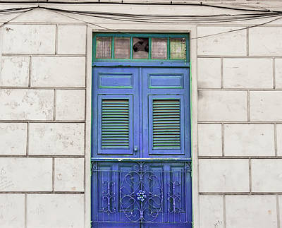 Photograph - Blue Door by Kandy Hurley