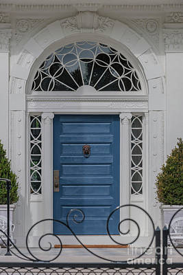 Photograph - Blue Door Love by Dale Powell