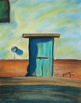 Painting - Blue Door by Michael Foltz