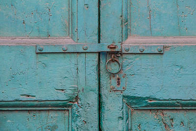 Photograph - Blue Door Of Cortona by David Letts