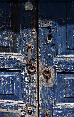 Photograph - Blue Door by Tatiana Travelways