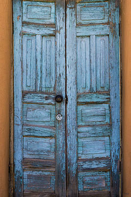 Photograph - Blue Doors I by David Gordon