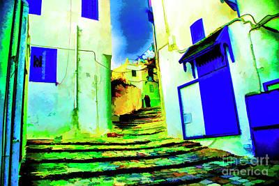 Photograph - Blue Doors by Rick Bragan