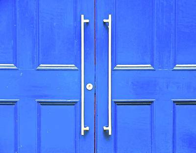 Photograph - Blue Doors by Stephanie Moore