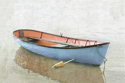 Photograph - Blue Dory 2 by Karen Lynch