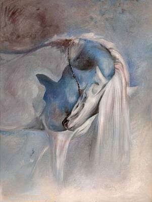 Painting - Blue Dream by Dorota Kudyba