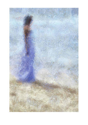 Photograph - Blue Dream. Impressionism. Ltd Edition Of Only 25 Fine Art Giclee Prints by Jenny Rainbow