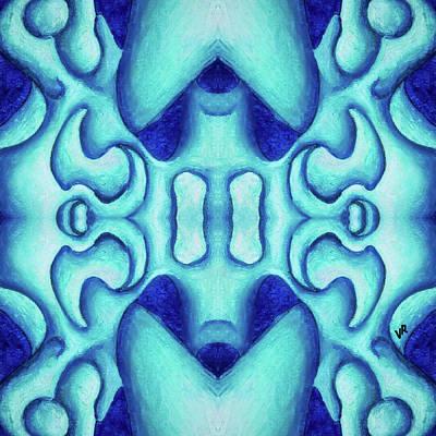 Painting - Blue Dream by Versel Reid