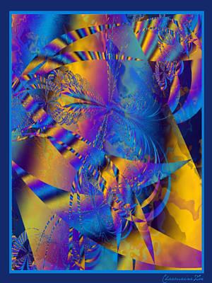 Digital Art - Blue Dreams by Charmaine Zoe