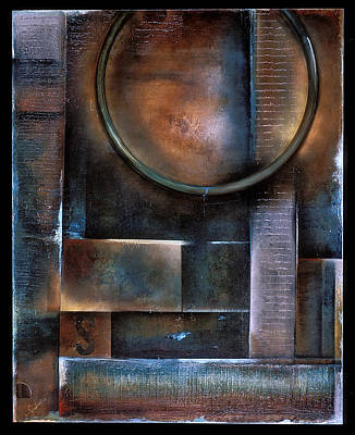 Blue Drop Art Print by Stephen Schubert