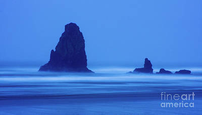 Photograph - Blue Dusk At Cannon Beach by Bruce Block
