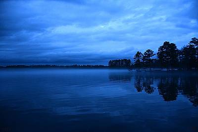 Photograph - Blue Dusk by Lisa Wooten