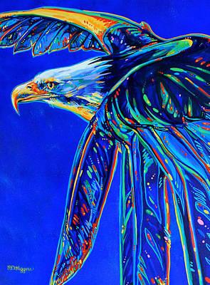 Blue Eagle Original by Derrick Higgins