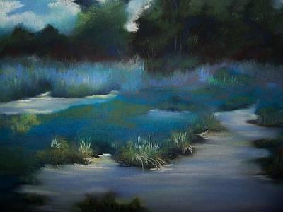 Blue Eden Art Print