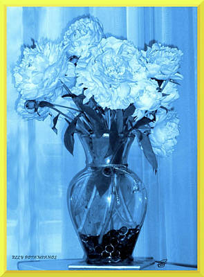 Photograph - Blue by Elly Potamianos