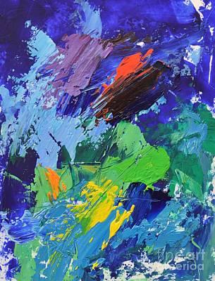 Blue Engagement Art Print by Philip Jones