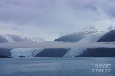 Blue Escape In Alaska Art Print