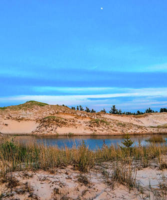 Photograph - Blue Evening In Ludington State Park by Dan Sproul
