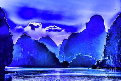 Photograph - Blue Evening by Rick Bragan
