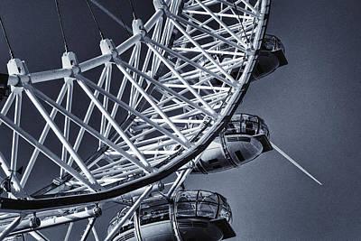 Landmarks Royalty Free Images - Blue Eye Royalty-Free Image by Joan Carroll