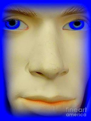 Photograph - Blue Eyed Brent by Ed Weidman