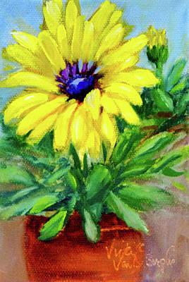 Painting - Blue Eyed Girl by Vicki VanDeBerghe