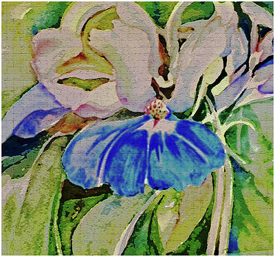 Blue Eyed Mary Art Print