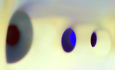 Photograph - Blue Eyes Orbs by Jan W Faul