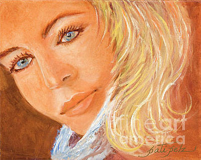 Painting - Blue Eyes by Pati Pelz