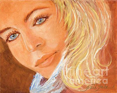 Painting - Blue Eyes by Pati Pelz