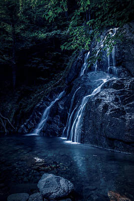 Photograph - Blue Falls by Sherman Perry