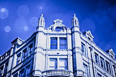 Upscale Photograph - Blue Fantasy by Tom Gowanlock