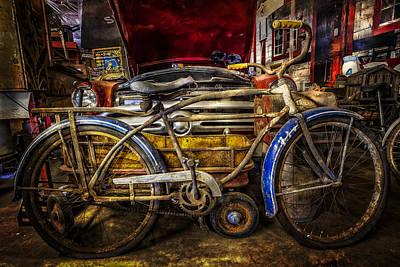 Photograph - Blue Fenders by Debra and Dave Vanderlaan