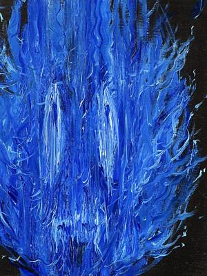 Painting - Blue Flame by Fabrizio Cassetta