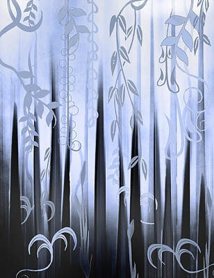 Painting - Blue Forest by Deborah Smith