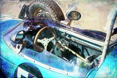 Photograph - Blue Formula Vee by Stuart Row
