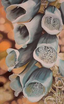 Painting - Blue Foxgloves by Terri Thompson