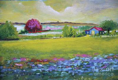 Painting - Blue Garden by Alicia Maury