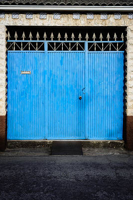 Food And Flowers Still Life - Blue Gate by Marco Oliveira