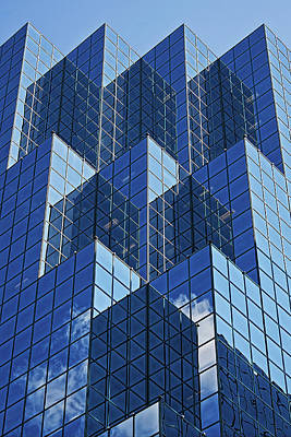 Photograph - Blue Geometry In Ottawa, Canada by Tatiana Travelways