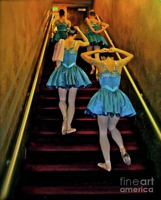 Photograph - Blue Girls. San Jose Ballet by Corlyce Olivieri