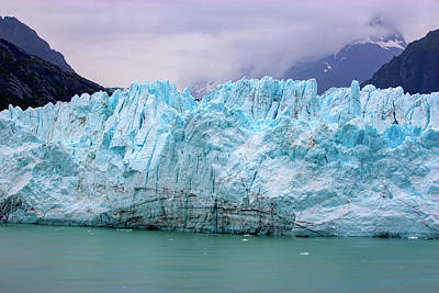 Photograph - Blue Glacier by Anthony Jones