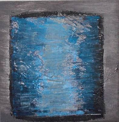 Painting - Blue Glass by Stella Arden