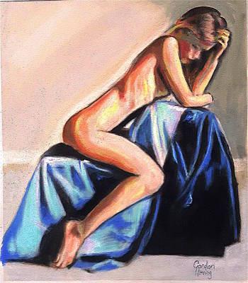 Blue Original by Gordon Irving